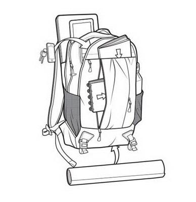 Рюкзак Burton Bravo Purple - інтернет-магазин рюкзаків Burton в Україні 021d984a96608