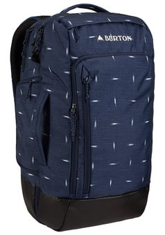 Burton Multipath travel pack dress blue basket ikat