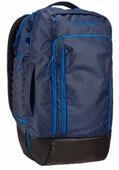 Burton Multipath travel pack dress blue coated